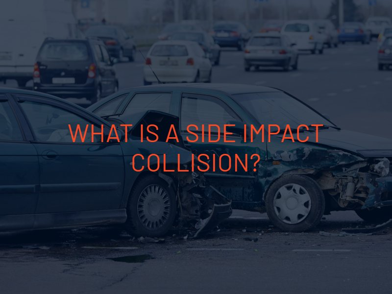 what causes a side impact collision
